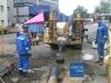 Прокладка канализации и водопровода